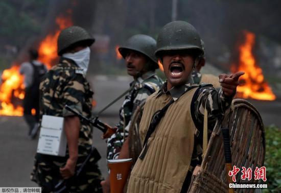 莫迪就印度大规模骚乱发声:深感痛心,强烈谴责!