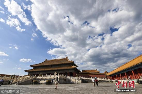材料图:故宫 图片来源:视觉中国