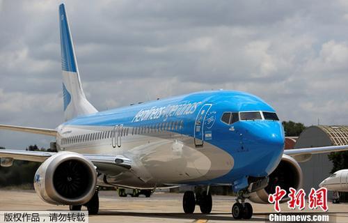质料图片:波音737 MAX 8。