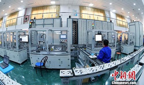 资料图:工厂车间。 供图