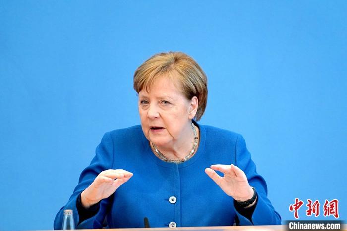 资料图:德国总理默克尔。a target='_blank' href='https://www.chinanews.com/'/p中新社/a记者 彭大伟 摄