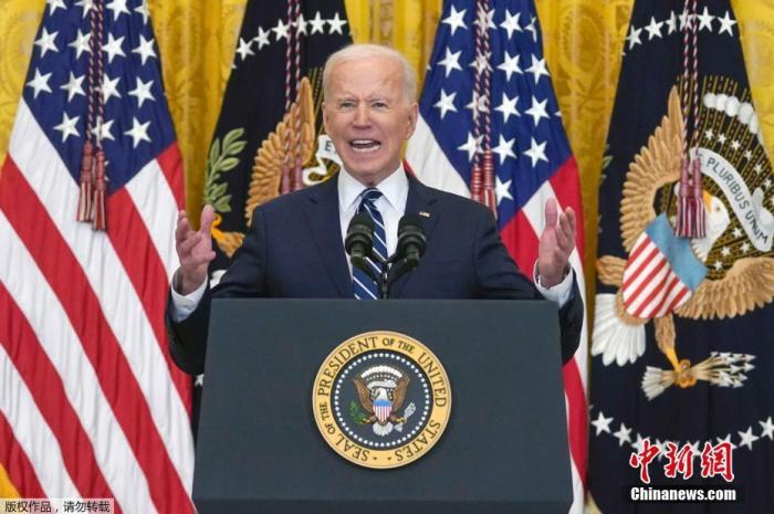 当地时间3月25日,美国总统拜登举行了上任60多天来的首场正式新闻记者会,回答了边境危机、控枪、基建计划等热点问题。