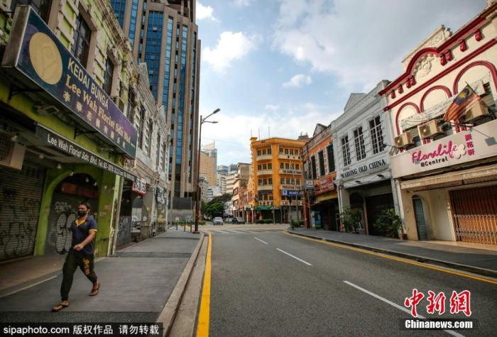 图为马来西亚吉隆坡街景。Sipaphoto版权作品 禁止转载